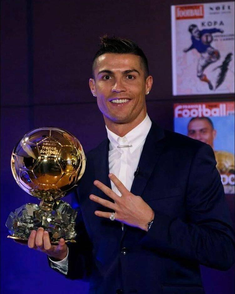 Cristiano Ronaldo ballon d'or 2016