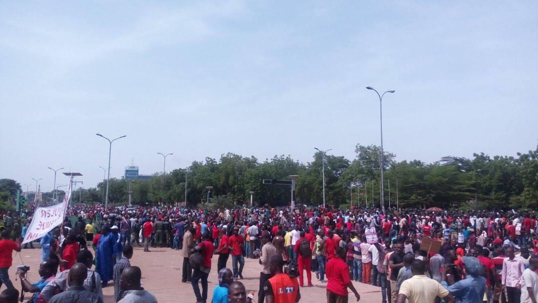 Manifestation contre la révision constitutionnelle au Mali