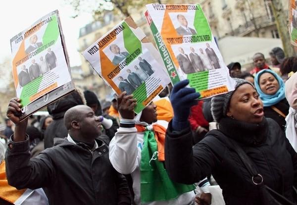 La diaspora ivoirienne de France