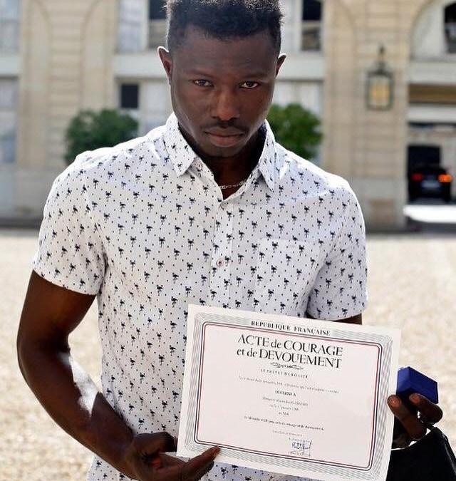 Mamadou Gassama le héros invité à l'Elysée