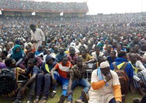 Meeting d eMahamoud DICKO au stade du 26 MArs