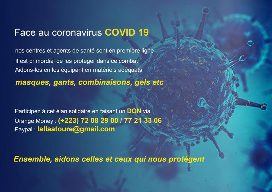 Initiative contre le Covid-19 au Mali
