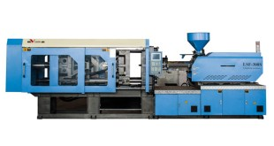 Variable pump injection molding machine