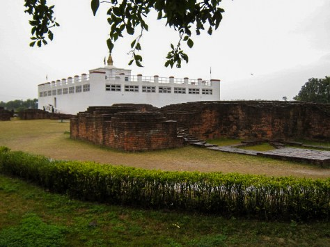Maya Devi Temple, Lumbini. The birthplace of Budha. Camera Canon PS SD800. Date 2/11/2010