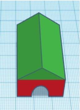 TinkerCAD Tutorial: Final Shape