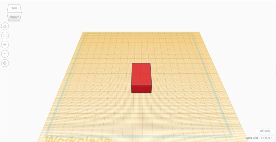 TinkerCAD Tutorial: New Workplane (Home View)