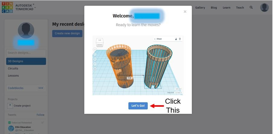 TinkerCAD Tutorial Page
