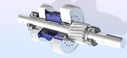 Lastschaltbare Getriebewelle RPT Tech GmbH