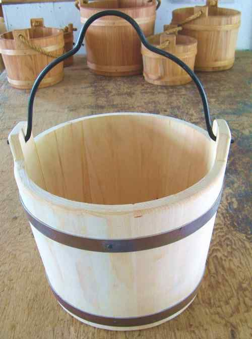 Wooden Buckets Water Buckets Wishing Wells Decorative And Props R Amp P Trading