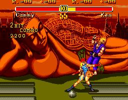 SEGA Genesis Version Rage Quitter 87s Super Street Fighter II Shrine