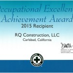 2015 - Occupational Excellence Achievement Award