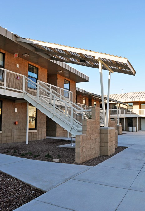New Dormitory is First LEED Gold Project at Davis-Monthan AFB