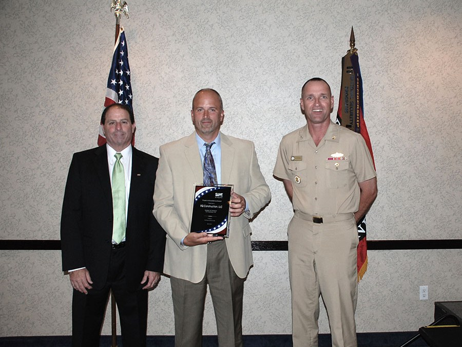 RQ Awarded SAME 2012 Project Of Excellence Award For Seabee / CEC Museum