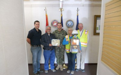 Kisaq-RQ Receives ROICC Cherry Point Walt Baer Safety Award