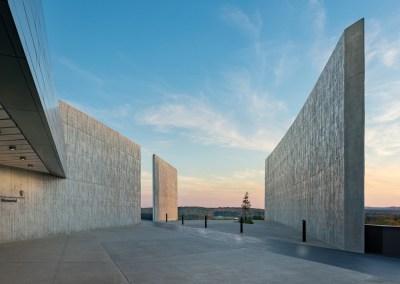 Flight 93 National Memorial Visitor Center, Phase 1B