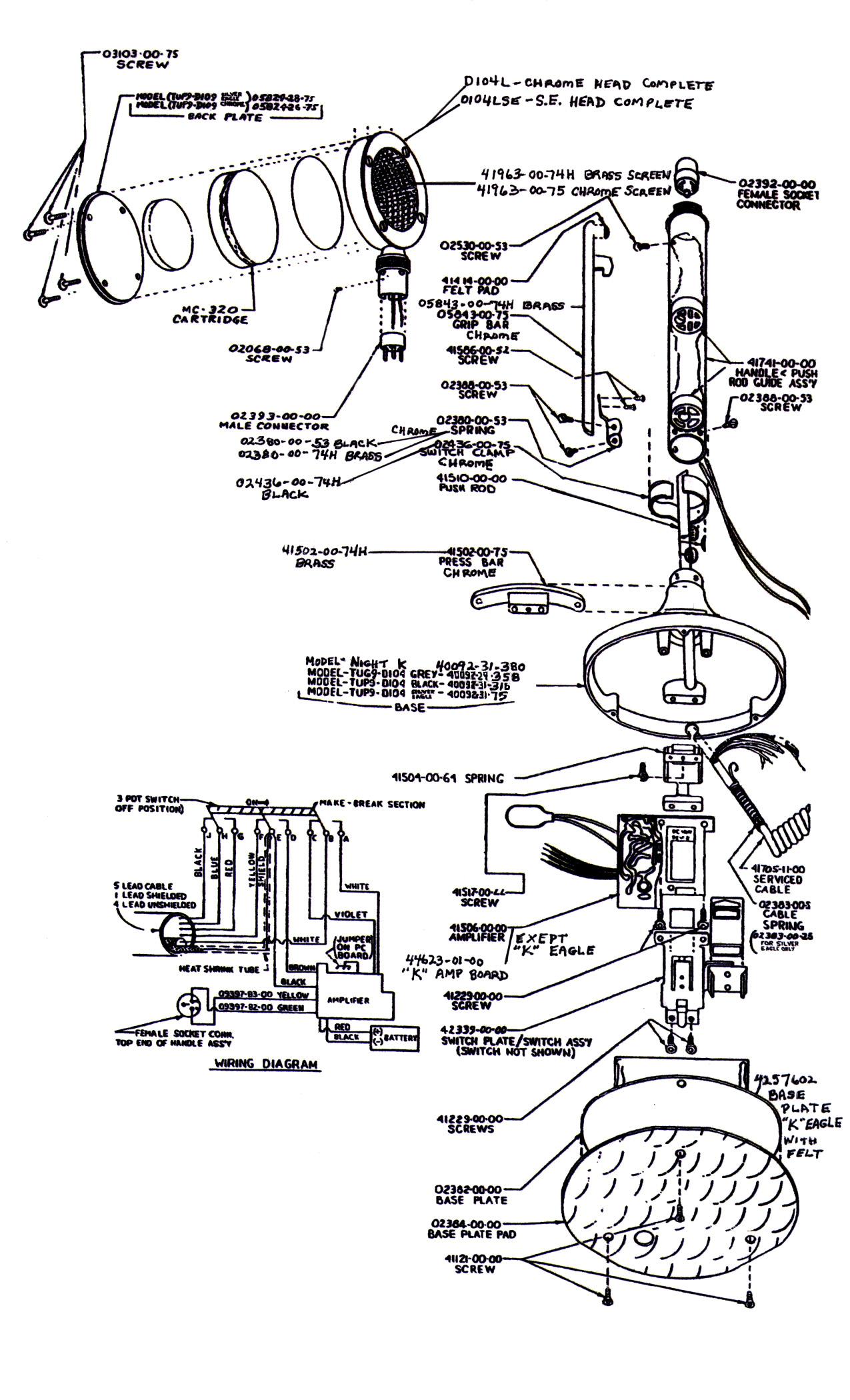 D104 Silver Eagle Wiring Diagram