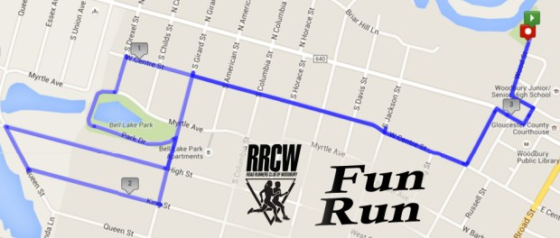 RRCW Fun Run Map