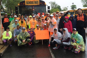 RRCW Broad Street Bus Group Shot