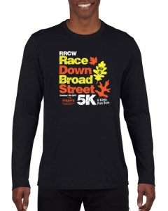 rrcw race down broad street black shirt 2017