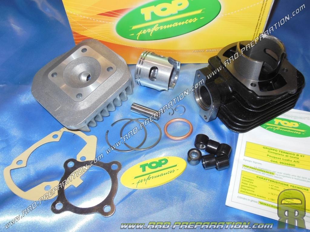 kit 70cc o47mm fonte top performances pour scooter peugeot horizontal air ludix speedfight 3 new vivacity www rrd preparation com