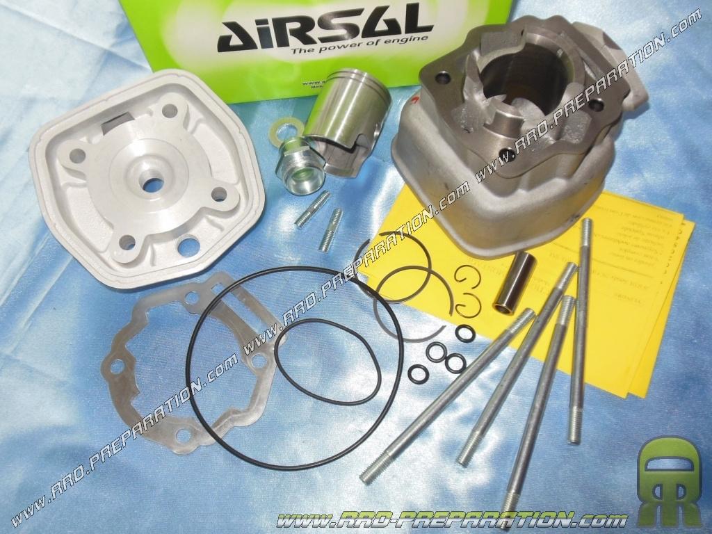 kit 50cc high engine o40mm cast iron derbi airsal two segment euro 3 www rrd preparation com