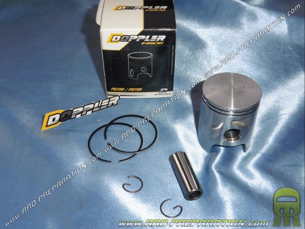 piston doppler o39 84mm pour kit 50cc aluminium vortex sur derbi euro 3 www rrd preparation com