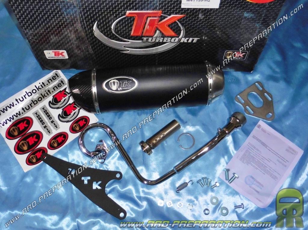 exhaust system turbo kit tk h2 scooter 4t 50cc honda nsc vision 50 4t