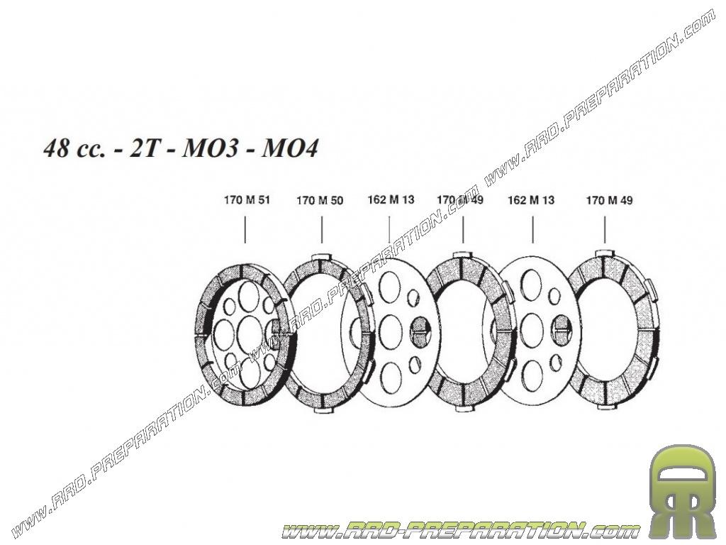 Franco Morini 50cc Engine Diagram