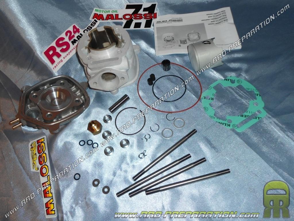 kit 80cc high engine o50mm malossi mhr replica aluminum derbi euro 3 www rrd preparation com