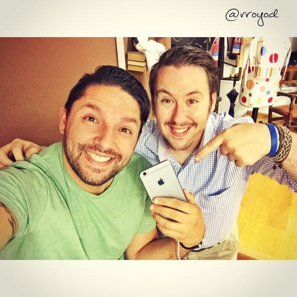 Selfie con JuanRa