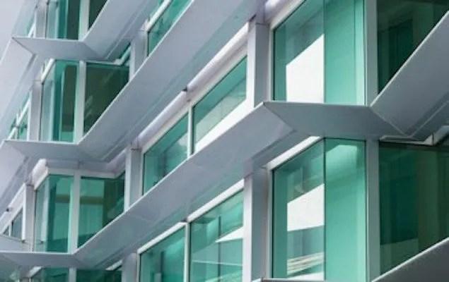 Image of high-rise windows