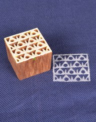 Block Stamps for Fabric Geometrical Shape