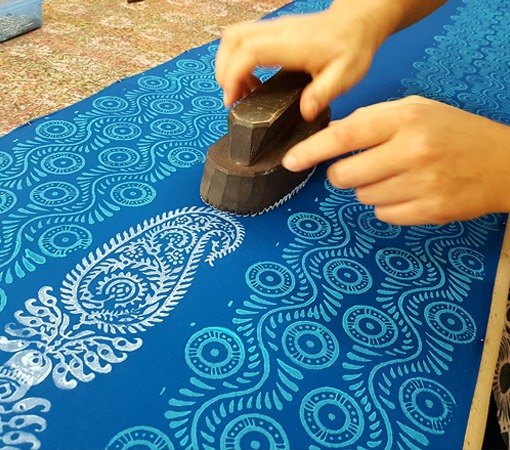 The Art of Wooden Block Printing