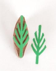 Textile Printing Blocks Tree Design 769