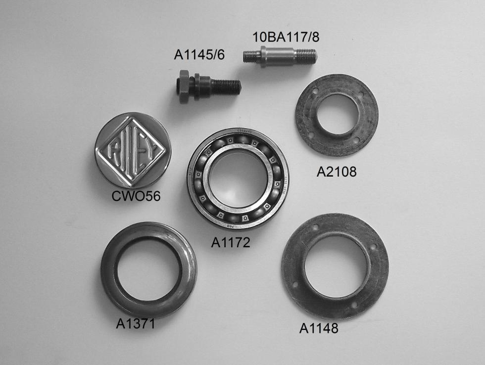 RRSL Wheel & Hub Fittings
