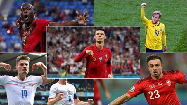 Top-shënuesit më të mirë në EURO 2020 deri tani – udhëheq Ronaldo, në listë edhe Shaqiri