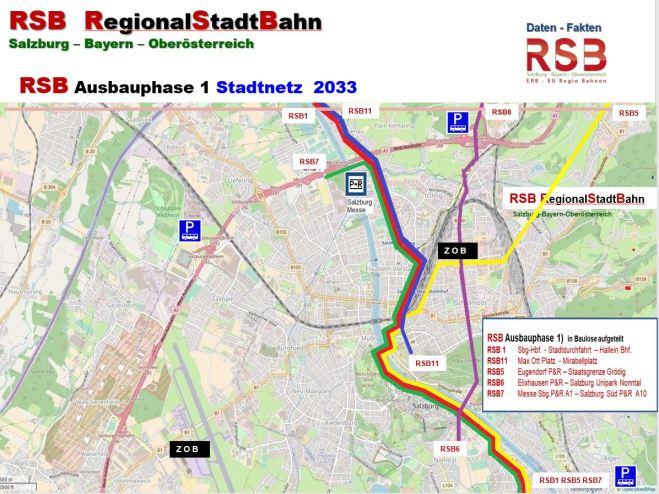 RSB Ausbauphase 1 Stadtnetz 2033 Verein RSB