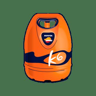 bombona de butano domestico k6