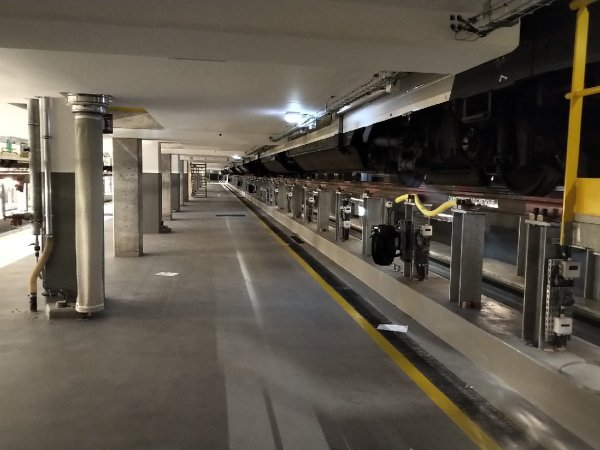 Sous quais Ateliers RER