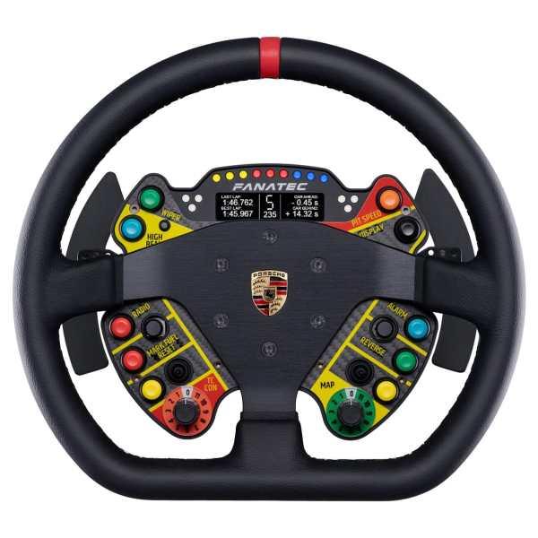 Podium Steering Wheel fanatec Porsche 911 GT3 R Leather
