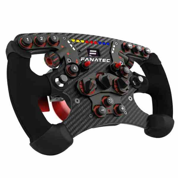 ClubSport Steering Wheel Formula V2 - side view