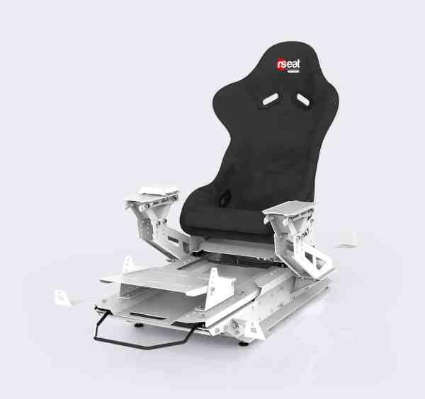 rseat s1 alcantara white upgrades pro shifter 03 3