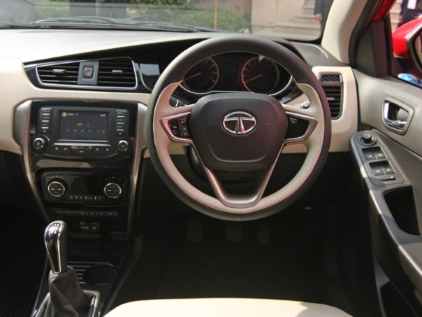 Tata zest dashboard