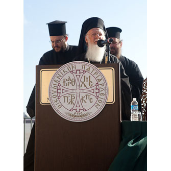 The Patriarch Delivering his Address.