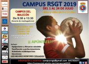 El Campus RSGT, del 1 al 24 de julio