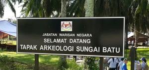 Een van die hoogtepunte van die besoek aan Maleisië was die uitstappie na die uitgrawings in Kedah wat oorblyfsels van een van die oudste beskwaings op aarde bevat.