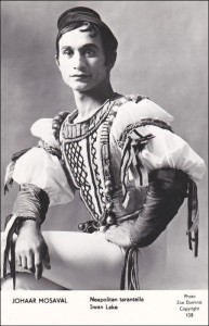 Johaar Mosaval in sy dae as ballet-superster in Covent Garden