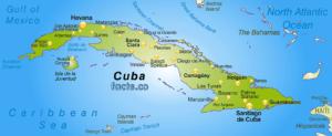 CubaPhysicalMap
