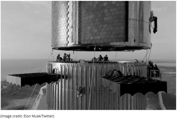 Grootste ruimtetuig ooit binnekort gelanseer
