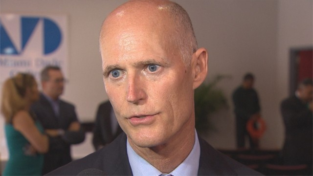 Rick Scott opposes Syrian refugees coming to the U.S.